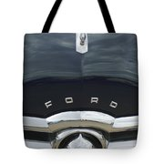 1949 Ford Hood Ornament 4 Tote Bag