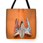 1949 Lincoln Coupe Hood Ornament Tote Bag