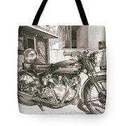 1949 Vincent Rapide Hrd Tote Bag