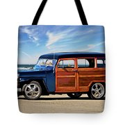 1949 Willys Woody Wagon I Tote Bag