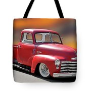 1950 Chevrolet 3100 Pickup 'show Low' I Tote Bag