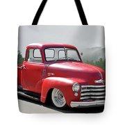 1950 Chevrolet 3100 Pickup 'show Low' II Tote Bag