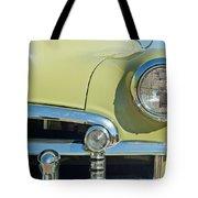 1950 Chevrolet Fleetline Grille Tote Bag