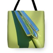 1950 Chevrolet Fleetline Hood Ornament Tote Bag