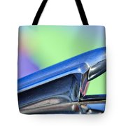 1950 Chevrolet Hood Ornament 3 Tote Bag