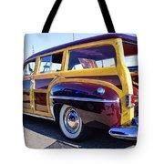 1950 Chrysler Royal Woody Tote Bag
