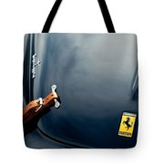 1950 Ferrari Hood Emblem Tote Bag