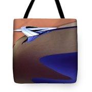 1950 Mercury Club Coupe Hood Ornament Tote Bag