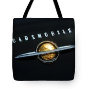 1950 Oldsmobile Rocket 88 Convertible Emblem Tote Bag