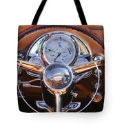 1950 Oldsmobile Rocket 88 Steering Wheel 2 Tote Bag