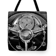 1950 Oldsmobile Rocket 88 Steering Wheel 4 Tote Bag