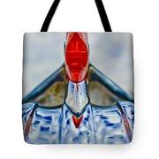 1950 Pontiac Hood Ornament 3 Tote Bag