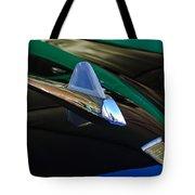 1950 Studebaker Custom Convertible Hood Ornament Tote Bag