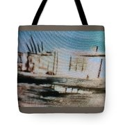 1950's - At The Hopi Village Tote Bag