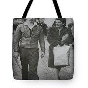 1950s Fashion Tote Bag