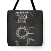 1951 Basketball Net Patent Artwork - Gray Tote Bag