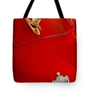 1951 Crosley Hot Shot Hood Ornament Tote Bag