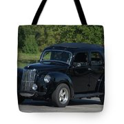 1951 English Ford Prefect Street Rod Sedan Tote Bag