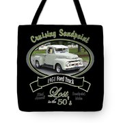 1951 Ford Truck Shields Tote Bag
