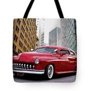 1951 Mercury 'candy Custom' Sled L Tote Bag