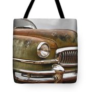 1951 Nash Ambassador Hydramatic Front End Tote Bag