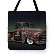 1951 Rusty Chevrolet Pickup Truck Tote Bag