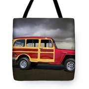 1951 Willy's Jeepster Tote Bag