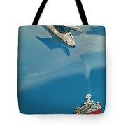 1952 Crosley Super Woody Wagon Hood Ornament Tote Bag