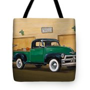 1952 Ford F100 Pickup Tote Bag