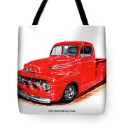 1952 Ford Pick Up Truck Tote Bag