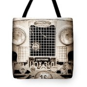 1952 Land Rover 80 Grille -1003s Tote Bag