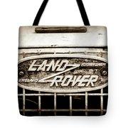 1952 Land Rover 80 Grille  Emblem -0988s2 Tote Bag