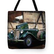 1952 Mg Td Roadster Sports Car Tote Bag