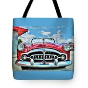 1952 Packard 250 Convertible Tote Bag