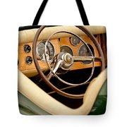 1952 Sterling Gladwin Maverick Sportster Steering Wheel Tote Bag