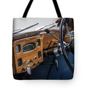 1952 Triumph Renown Limosine Instrument Panel Tote Bag