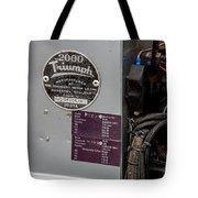 1952 Triumph Renown Limosine --- Vehicle Identification Tags Tote Bag