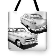 1952 Willys  Tote Bag