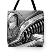 1953 Buick Chrome Bw Tote Bag