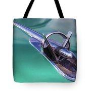 1953 Buick Super Hood Ornament Tote Bag