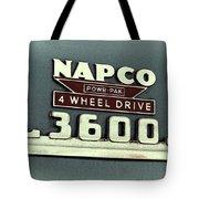 1953 Chevrolet 3600 4 X 4 Emblem Tote Bag