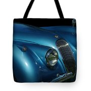 1953 Jaguar 120m  Tote Bag