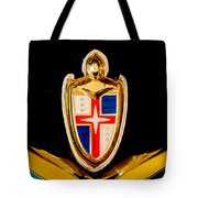 1953 Lincoln Capri Emblem Tote Bag