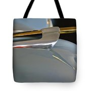 1953 Lincoln Capri Hood Ornament 2 Tote Bag