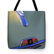 1953 Plymouth Hood Ornament Tote Bag