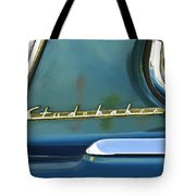 1953 Studebaker Champion Starliner Abstract Tote Bag by Jill Reger