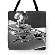 1954 Bentley One Of A Kind Hood Ornament 2 Tote Bag by Jill Reger