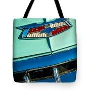 1954 Chevrolet Belair Emblem Tote Bag