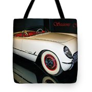 1954 Chevrolet Corvette Convertible Tote Bag