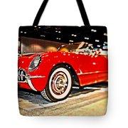 1954 Chevrolet Corvette Number 2 Tote Bag